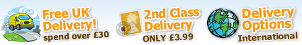 FREE UK Delivery when you spend over £30!