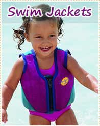 Swim Jackets for Babies, Kids and Adults
